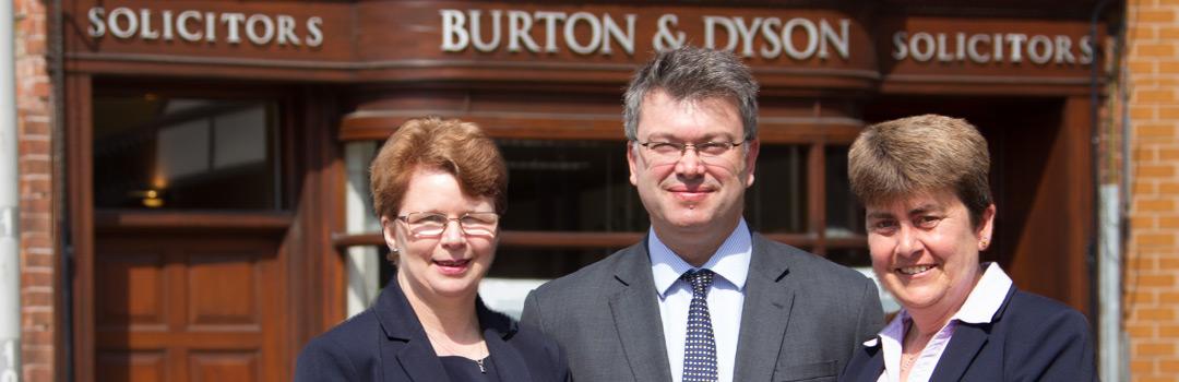 Burton & Dyson Client Charter